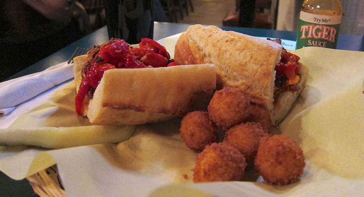 Basque Solomo Sandwich